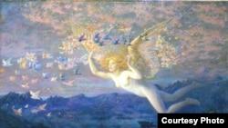 Эдвард Роберт Хьюз «На крыльях утра», 1905 год
