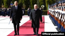 İ.Əliyev və N.Nazarbaev