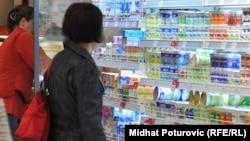 Produkte qumështi nga Bosnja