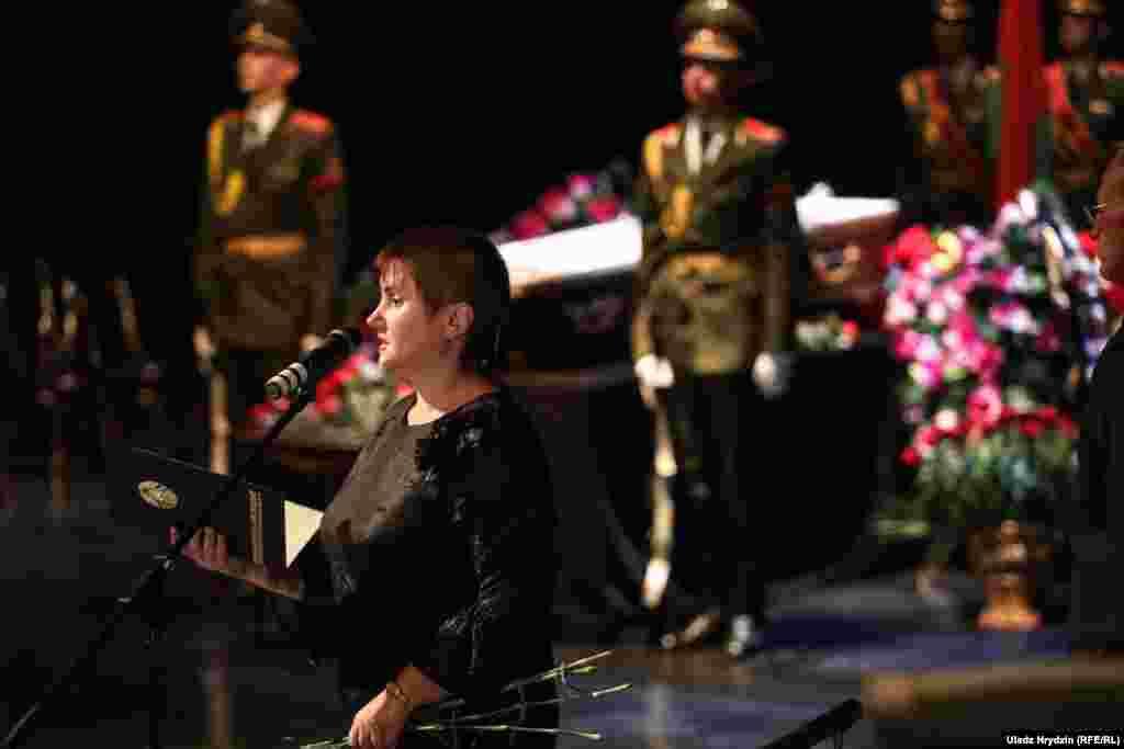 Першая намесьніца міністра культуры Ірына Дрыга