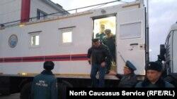 Главу МЧС Евгения Зиничева встречают в Северной Осетии
