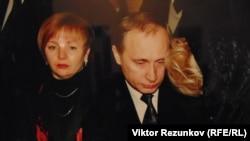 Путин ва Нарусова дар дафни Анатолий Собчак