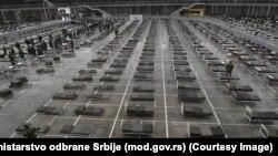 Beogradski sajam postaje prihvatilište za obolele od Covid-19