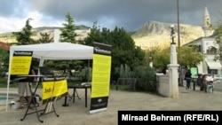 """Koalicija """"Jednakost"""" organizovala je informacione centre o popisu, Mostar"""