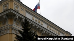 it's the first time in four years that Russia's central bank has hiked its main interest rate. (file photo)