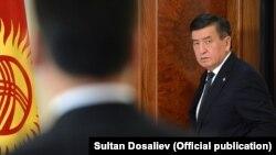 Сооронбай Жээнбеков президент учурунда тартылган сүрөт