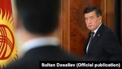 Сооронбай Жээнбеков в период президентства.