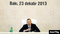 İlham Əliyev - 23 dekabr 2013