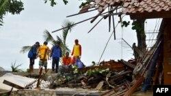 Последствия цунами в Индонезии, 23 декабря 2018 год