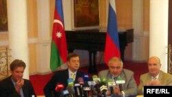 Минск тобунун теңтөрагалары Баку шаарында