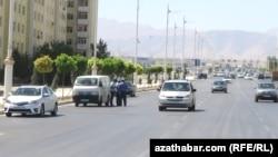 Юбилейная улица Ашхабада (Иллюстративное фото)