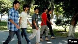 «Dalğa» Gənclər Hərəkatının ayaqyalın aksiyası, 26 sentyabr 2007