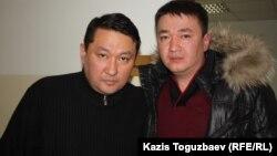 Братья Молдашевы - Аскар (слева) и Данияр. Алматы, 19 февраля 2013 года.