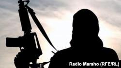 """Боевик запрещенной группировки """"Исламское государство"""" (иллюстративное фото)"""