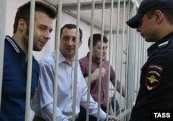 Илья Гущин, Александр Марголин и Алексей Гаскаров