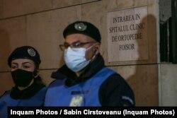 Spitalul Foișor a fost evacuat vineri seara