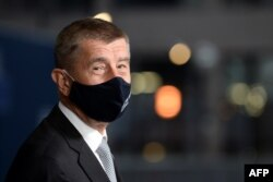 Чех өкмөт башчысы Андрей Бабиш. 2020-жылдын 20-июлу.
