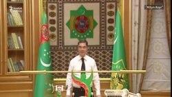 Президент Бердымухамедов продемонстрировал правительству навыки штангиста