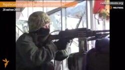 Українські військові у Донецькому аеропорту