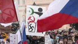 Hundreds Join Czech Anti-Islam Rally