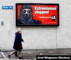 همهپرسی درباره ممنوعیت پوشیدن برقع در سویس