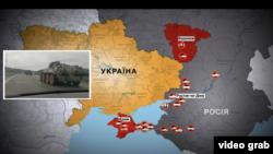 Значну частину техніки вивантажують у Криму і Воронезькій області