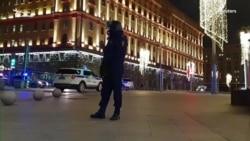 Неизвестный открыл стрельбу на Лубянке в Москве (видео)