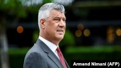 Kosovar President Hashim Thaci (file photo)