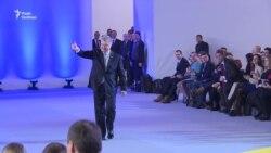 «Не допустити реваншу»: мотиви тих, хто прийшов підтримати Порошенка – відео
