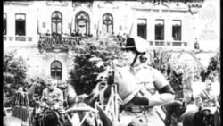Imagini de la o paradă a armatei române