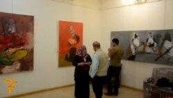 التشكيلي علاء الدين محمد يستنكر هدم داعش للآثار
