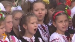 Kyiv School Welcomes Children Displaced From Ukraine's East