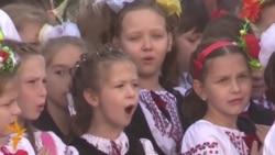 Kyiv School Welcomes Children Displaced From Ukraine's East