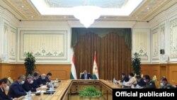Заседание Совета безопасности Таджикистана. Фото пресс-службы президента Таджикистана
