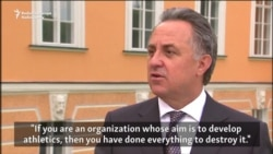 Mutko On Ban: Russian Sports Minister Says IAAF Is Destroying Athletics