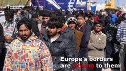Chaos On Lesbos As Migrants Keep Coming