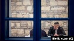 Jakab Péter, a Jobbik elnöke, az ellenzéki párt frakcióvezetője
