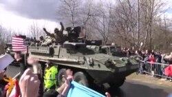 30.03.2015 Конвојот на САД пристигна во Прага, протести во Кишињев