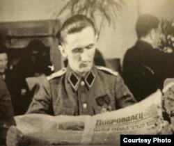 Н.Ф. Алферчик. 1942. Из кн. Б.Меньшагин. Воспоминания... М-СПб, 2019