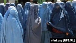 Афганские женщины в провинции Газни. Иллюстративное фото
