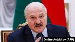 """Președintele Belarus Alexandr Lukașenko, numit deseori și """"ultimul dictator al Europei""""."""