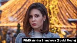Российская актриса Екатерина Шмакова