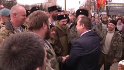 «А можна знову захопити Луганське СБУ?». Козак Дрьомов потискає руку «злодію» Плотницькому