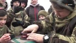 В Крыму детей учат основам саперного дела (видео)