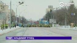 В Киеве Нацгвардия перекрыла подходы к посольству РФ