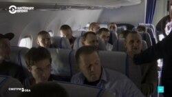 Обмен заключенными в российских и украинских СМИ