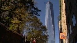 """На месте """"башен-близнецов"""" в Нью-Йорке открылась Башня Свободы"""