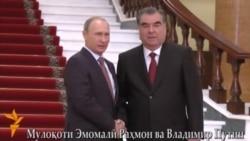 Мулоқоти Эмомалӣ Раҳмон ва Владимир Путин
