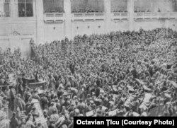 Ședința Sovietului din Petrograd la Palatul Taurida (martie 1917)