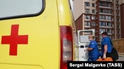 Співробітники швидкої допомоги в Криму, ілюстративне архівне фото